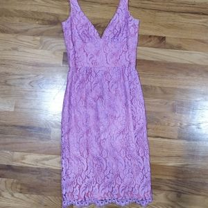 Trina Turk Lace Sleeveless Dress